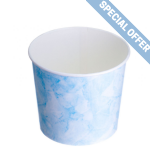 TYPE 85 750ml Ice Cream Cup - Blue Speckled